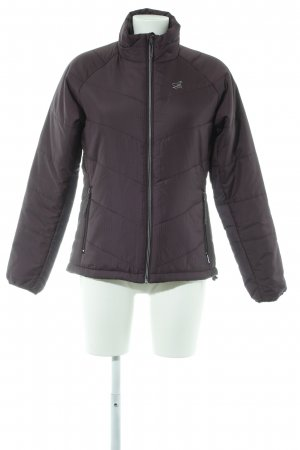 2117 of Sweden Quilted Jacket brown violet simple style