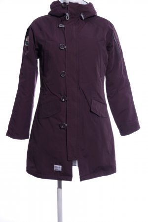 2117 of Sweden Winter Coat lilac business style