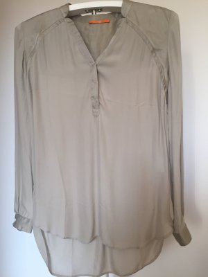 Boss Orange Long Blouse sage green silk