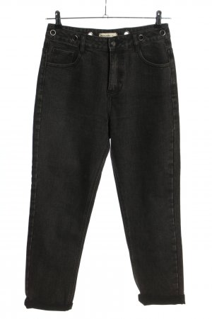 24 colours Boot Cut Jeans black casual look