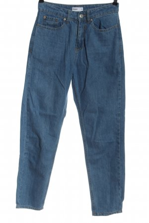 24 colours High Waist Jeans blue casual look