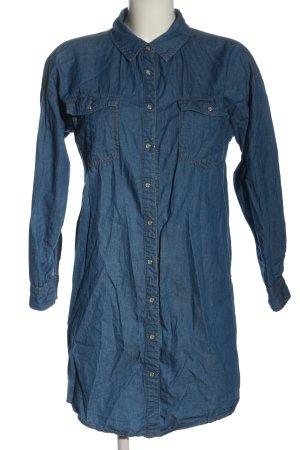 24 colours Jeansowa sukienka niebieski W stylu casual