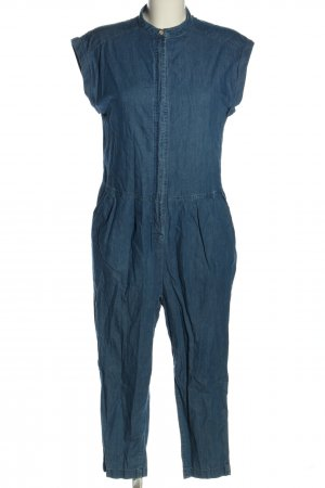 24 colours Jumpsuit blauw casual uitstraling