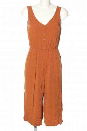 24 colours Jumpsuit licht Oranje casual uitstraling