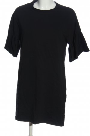 24 colours Shortsleeve Dress black casual look