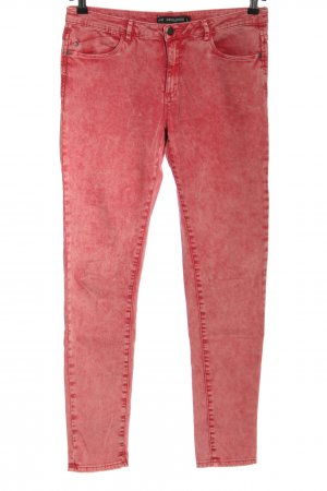 24 colours Jeans skinny rosso stile casual
