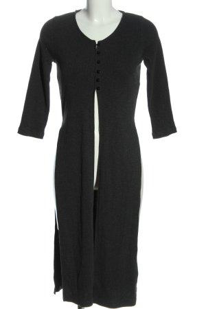 24 colours Cappotto a maglia grigio chiaro stile casual