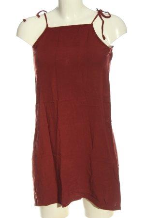 24 colours Robe à bretelles rouge style décontracté