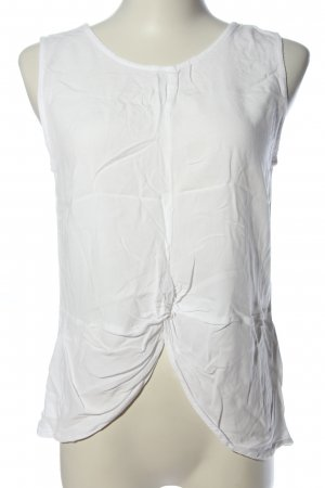 24Colours Sleeveless Blouse white casual look