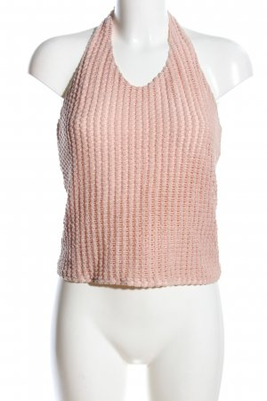 24Colours Bandeau top nude casual uitstraling
