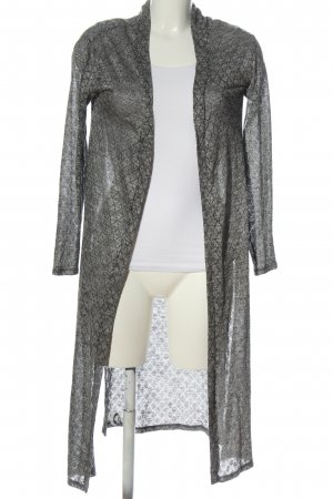 24Colours Cardigan light grey flecked casual look