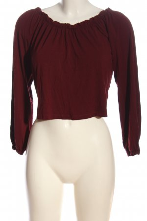24Colours Cropped top rood casual uitstraling