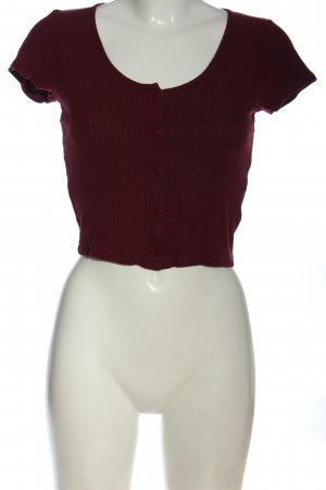 24Colours Hemdblouse rood casual uitstraling