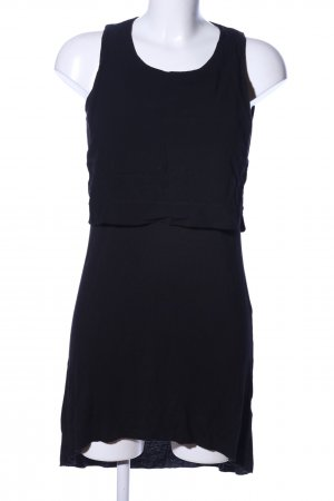 24Colours Jerseykleid schwarz Casual-Look