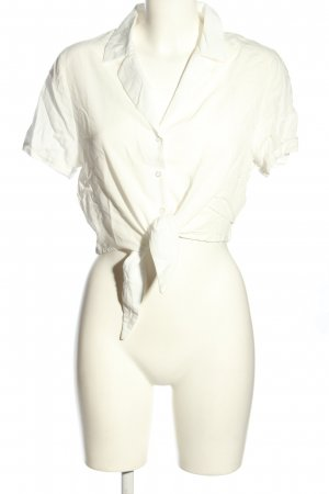 24Colours Short Sleeved Blouse natural white casual look