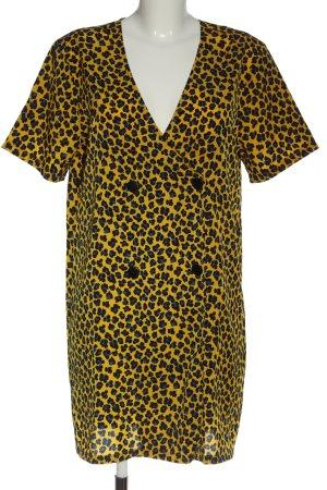 24Colours Shortsleeve Dress allover print elegant