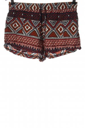 24Colours Hot Pants graphic pattern casual look