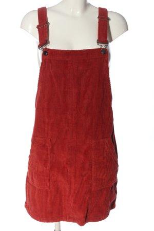 24Colours Spódnica ogrodniczka czerwony W stylu casual