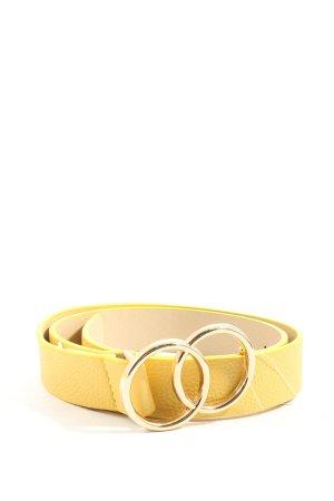 24Colours Faux Leather Belt primrose casual look