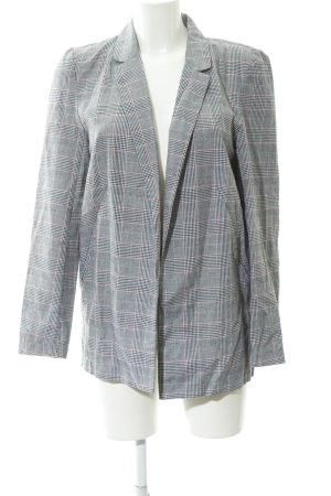 24Colours Blazer long motif Prince de Galles style simple