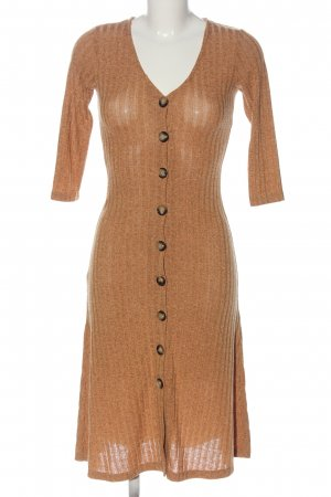 24Colours Midi Dress brown casual look