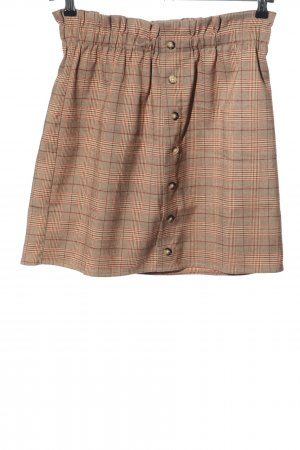24Colours Miniskirt check pattern casual look