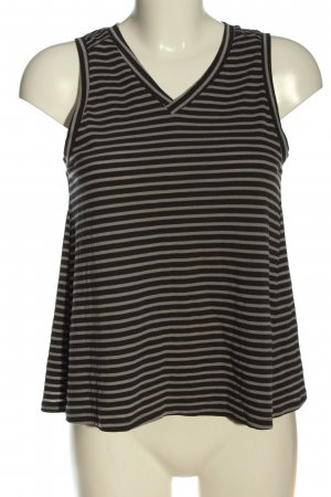 24Colours Stripe Shirt black-brown striped pattern casual look