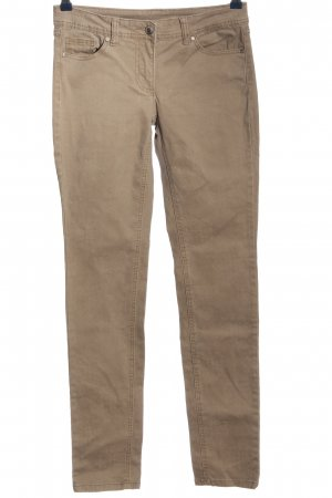 24Colours Pantalone a sigaretta color carne stile casual