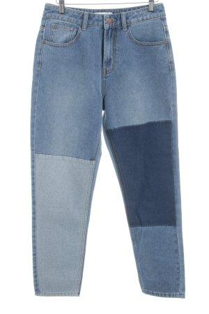 24Colours Röhrenjeans graublau Farbverlauf Casual-Look