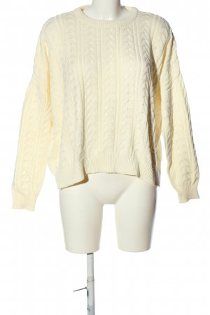 24Colours Kraagloze sweater room casual uitstraling