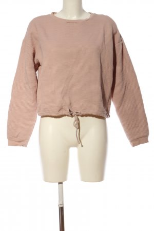 24Colours Rundhalspullover pink Casual-Look