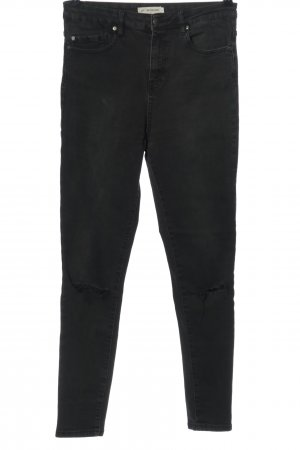 24Colours Slim Jeans black casual look