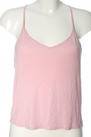 24Colours Top con bretelline rosa stile casual