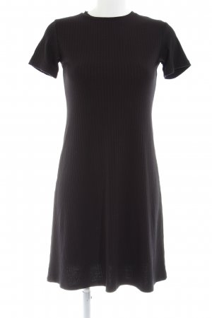 24Colours Sweatkleid schwarz Business-Look