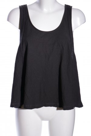 24Colours Tanktop schwarz Casual-Look