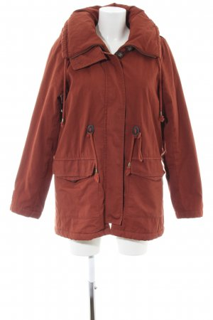 24Colours Winterjacke braun Casual-Look