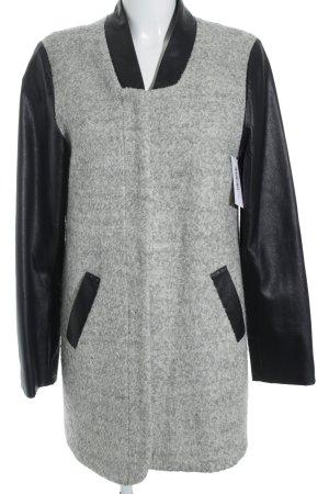 24Colours Manteau d'hiver gris clair élégant
