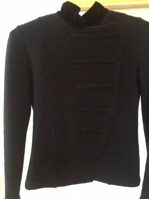 susskind Short Jacket dark blue wool