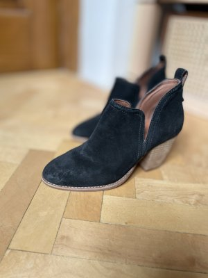 Jeffrey Campbell Ankle Boots black leather