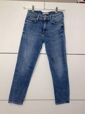 Calvin Klein Jeans Boyfriendbroek donkerblauw