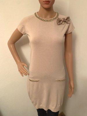 Elisabetta Franchi Knitted Dress dusky pink-pink viscose