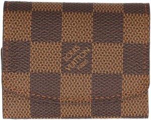 29888 Louis Vuitton Etui für Manschettenknöpfe aus Damier Ebene Canvas