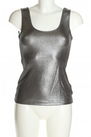 2b bebe Strappy Top silver-colored casual look