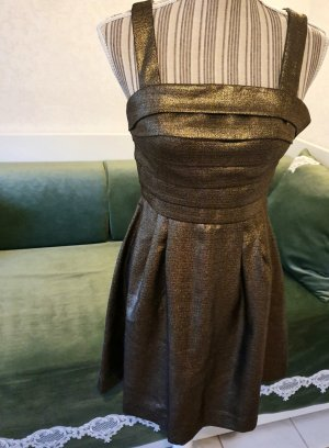 2b.rych Kleid gold bronze metallic 34 XS