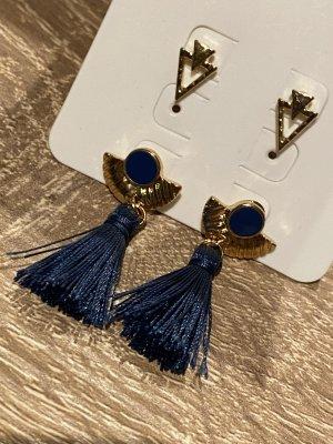Promod Dangle gold-colored-dark blue