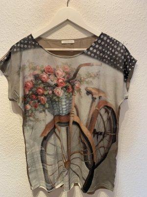 Promod T-shirt imprimé rose-beige