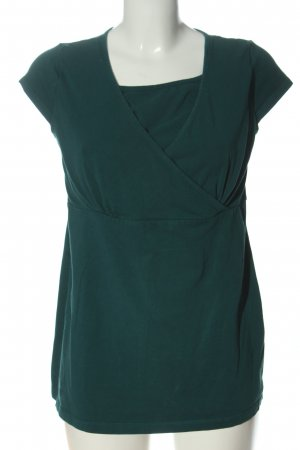 2hearts Short Sleeved Blouse green casual look