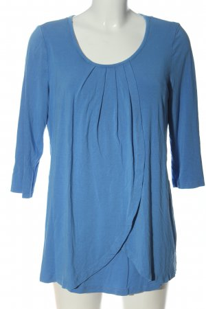 2hearts Slip-over Blouse blue casual look