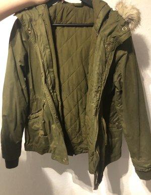 Zara Double Jacket green