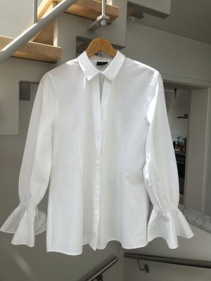 2nd Day Long Sleeve Blouse white cotton